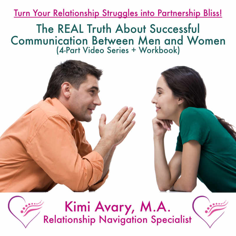 The REAL Truth About Successful Communication Between Men and Women 4-Part Audio Series