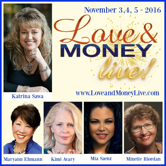 love and money live event invitation