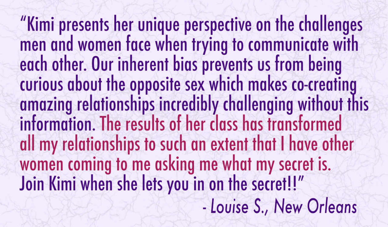 Testimonial - Louise S., New Orleans