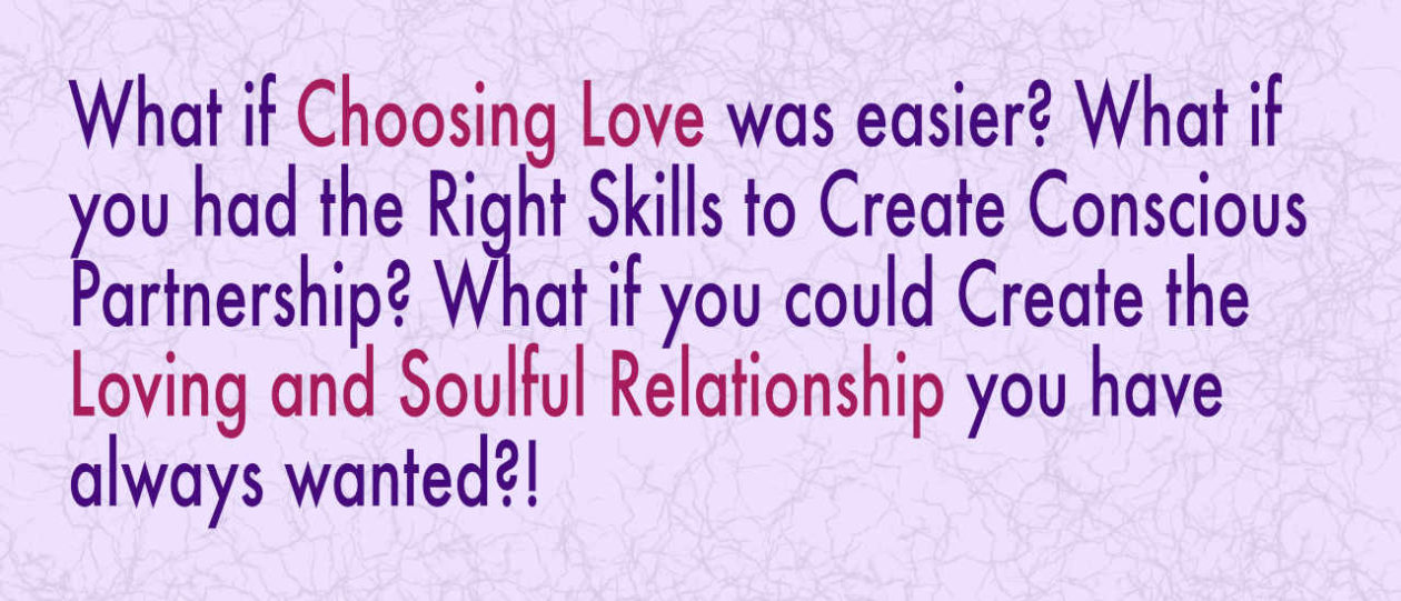 What if Choosing Love was Easier???