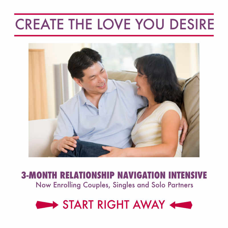 Relationship Navigation Intensive Program - Create the Love You Desire