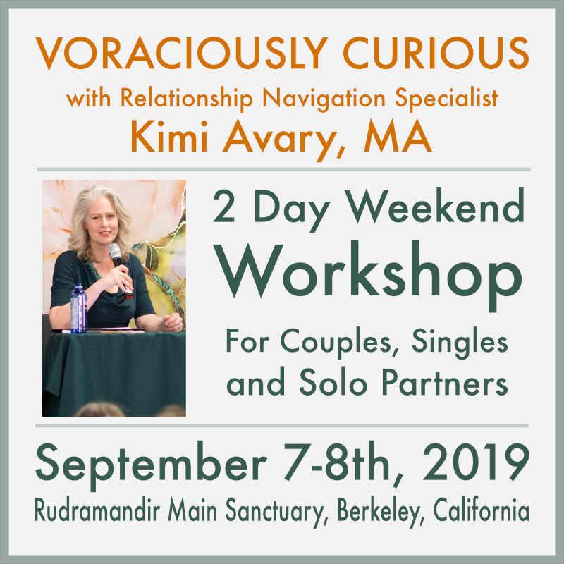 2019 Voraciously Curious Workshop